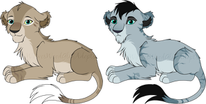 Junai Litter 13 - SpectrumStray :Closed: by WolvesWoodGlenAdopts
