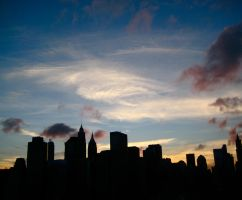 Silhouette of a City by Peris-Productions