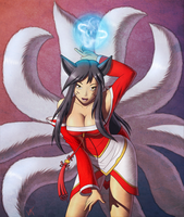 Ahri by ChoppaDave