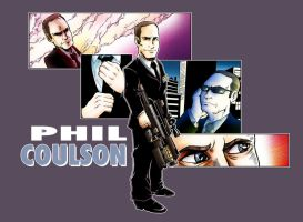 Phil Coulson- Honorary Avenger by Saturn-Kitty