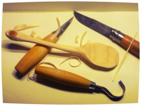 my first homemade spoon pic 1 by floris-tim