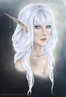 High Elf by RedDragonAmy