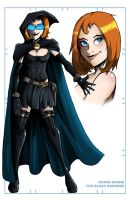 Model Sheet- Black Banshee by MachSabre