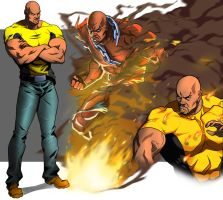 Luke Cage animated by CHUBETO