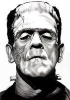 Frankenstein's Monster by EmilyHitchcock