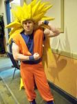 Super Saiyan 3 Goku by AngelicDemonSlayer