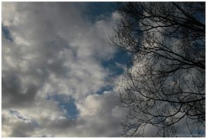 Blue Sky with clouds by Claudia008