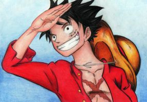 Monkey D. Luffy [2] by reetab