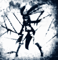 Black Rock Shooter by azhazel-Spp
