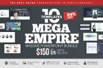 MEGA EMPIRE Powerpoint Template Bundle by LouisTwelve-Design
