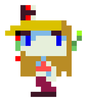 Cave Story - Curly w.MG Icon by Doctor-Cool