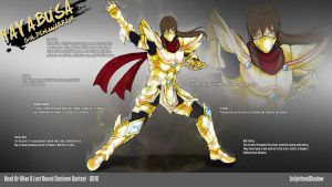 Ryu Hayabusa Golden Warrior by EnlightendShadow