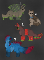 Creature Point Auction- closed by ForestGlade