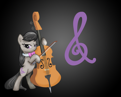 MLP: Octavia Wallpaper by Togekisspika35