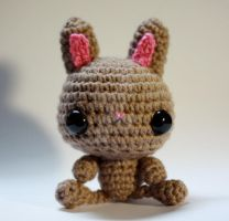 Brown Bunny by tinyowlknits