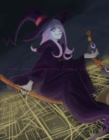 Little witch named Sucy by theAZscorpio