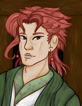 (C) Kakyoin by TinyTimelord