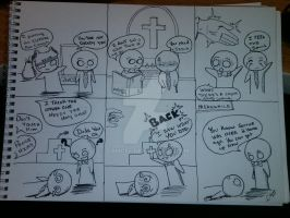 Anime comic strips 3 by DamCee