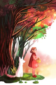 Little red riding hood by Mayroo