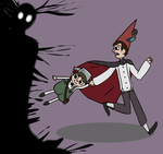 Over The Garden Wall by kitkatblack