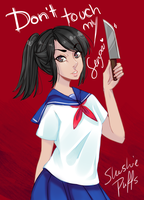 Yandere-chan has something to say by SlushiePuffs