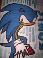 Sonic the Hedgehog by Rabenstolz