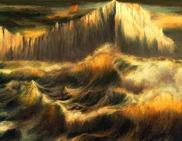 Waves of the Northern Seas, Serenei by ValentiniaK
