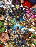 Final Fantasy IV: Heroes by karniz