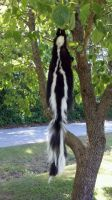 Jellybeans the Skunk by TabbyFoxTaxidermy