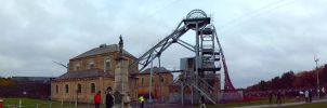Woodhorn Colliery Panoramic by elliotbuttons