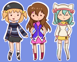 Pokemon trainers aw yea by pikabang
