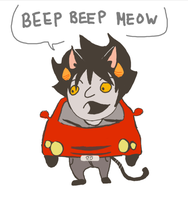 beep beep moew by LuckyLoser123