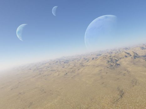 Desert Planet by DrakeRenar1