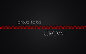 Proud to be Croat by dbstrtz
