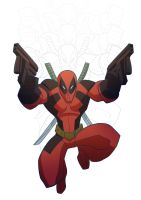 Deadpool by Drawaholic1124