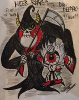 The Spooky Tales of Yonder: Hater and Peepers by XxMoonlight-1-WishxX
