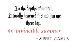 Albert Camus - Invincible Summer by MShades