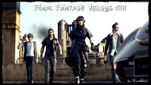 FF Versus XIII : The Gang by Noctella1427