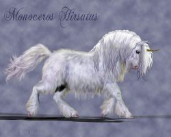 Very Shaggy Unicorn for Yonaka-Yamako by Daio
