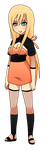 Naruto Female Adoptable #1 - OPEN by Puritsu