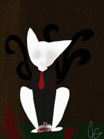 Slender cat by DecayingCorpeses