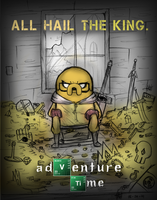 All hail the KingJake (Breaking bad poster parody) by Masteryeah037