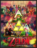 ZELDA THE MOVIE POSTER II by SoenkesAdventure