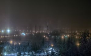 Foggy Evening 3181 by schon