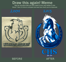 CHS Before and After by ElysianImagery
