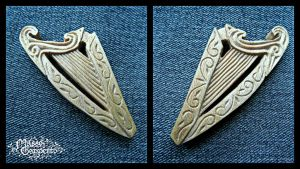 SIRR HARP PENDANT by MassoGeppetto