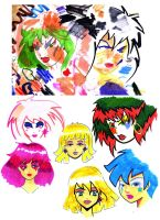 Jem quick sketches by ChibiCelina
