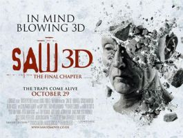 Saw 3D Poster by RoosterTeethFan