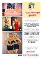 Katie Rogers in Thanksgiving Blues by DESPOP