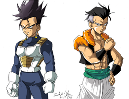 fusion vegeta-trunks by Sandra-delaIglesia